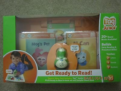 LeapFrog Tag Junior Green Get Ready to Read Scout Bundle