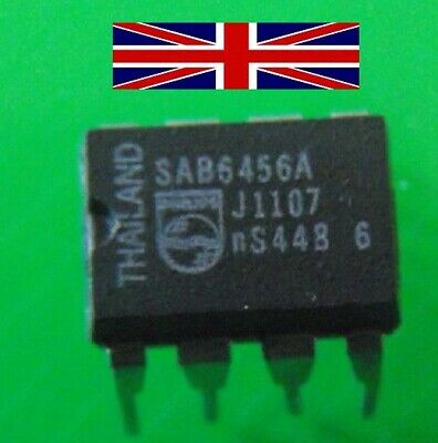 SAB6456A DIP-8 Integrated Circuit from Philips