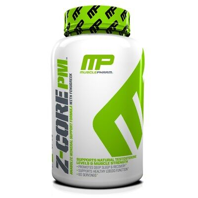 MusclePharm Z-Core PM Natural Testosterone & Muscle Strength 60 Caps