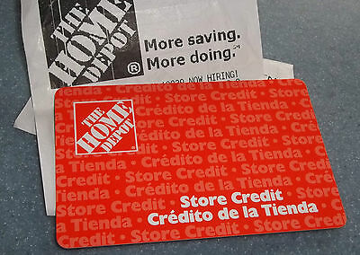 Home Depot Gift Card Merchandise Credit $280.00 ~ HAPPY SHOPPING!!
