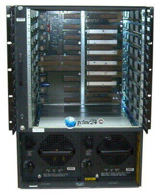 Cisco Catalyst 6500/6509 Chassis 2x 1300W WS-C6509