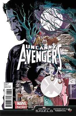 Uncanny Avengers (2013) #23 Vf/nm Agents Of Shield Variant Cover Marvel Now!