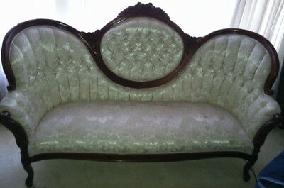 Kimball Victorian Couch plus two matching tables