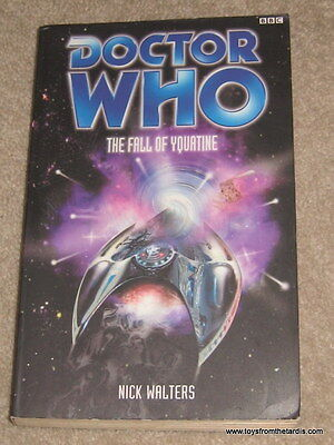 BBC DR WHO NOVEL BOOK - THE FALL OF YQUATINE