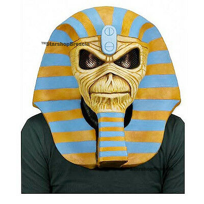 IRON MAIDEN - Powerslave Latex Mask 30th Anniversary Edition Neca