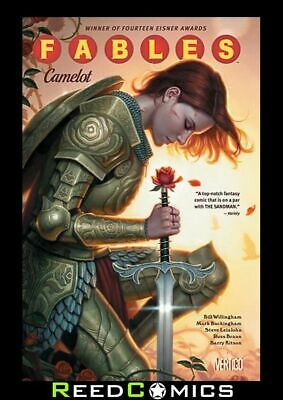 FABLES VOLUME 20 CAMELOT GRAPHIC NOVEL New Paperback Collects Issues #131-136