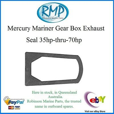A Brand New Mercury Mariner Outboard Gearbox Exhaust Seal 35hp-thru-70hp # 37721