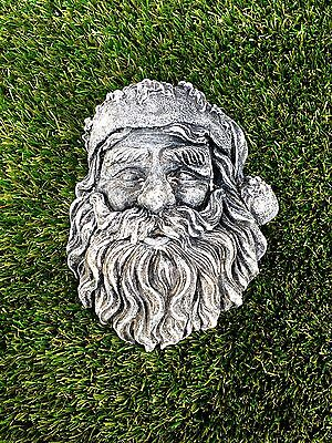 SALE 25% OFF! Santa Claus/Father Christmas Head Wall Plaque -  Latex Mould ONLY