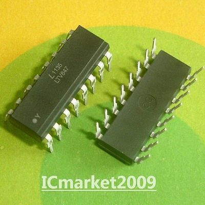 10 PCS LTV847 DIP-16 HIgh Density Mounting Type Photocoupler