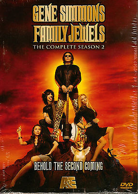 SIMMONS gene of KISS in family TV reality COMPLETE 2nd SEASON 8hr+ COLOR 3 dvd s