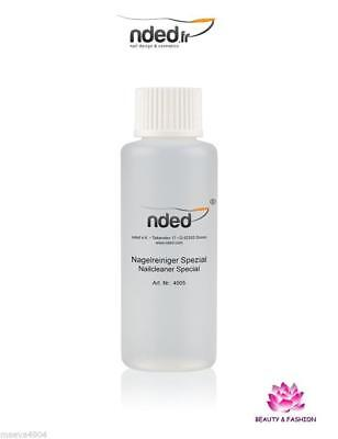 Nail Cleaner Dégraissant D'ongle 100 Ml Nded Nettoyant Gel Uv  Vernis Manucure