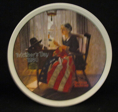 Norman Rockwell Mother's Day 1980 Collector Plate by Edward Knowles