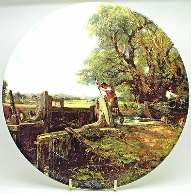 The Lock ~ Bone China Royal Doulton Plate