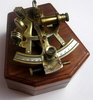 Buy Antique Sextant Replica Astrolable Navigation Sextant Brass Maritime Sextant
