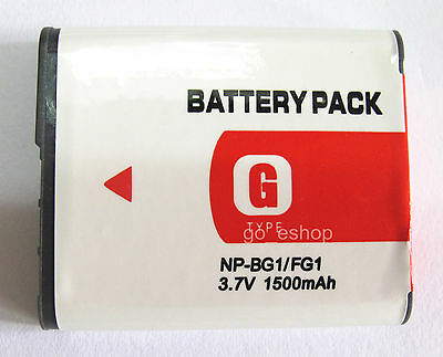 Battery For Sony Cyber-shot DSC-HX5V DSC-HX7V DSC-HX9V DSC-HX9V/B Digital Camera