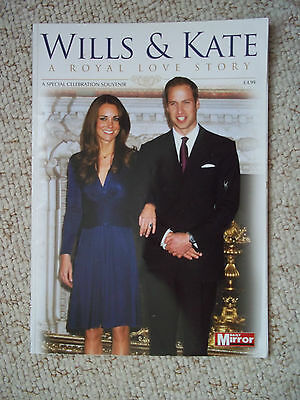 WILLS AND KATE A ROYAL LOVE STORY A SPECIAL CELEBRATION SOUVENIR NEW WEDDING
