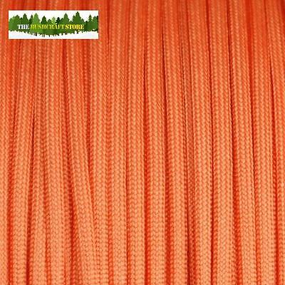 MIL-C-5040 US MILITARY ISSUE 550 PARACORD - Safety Orange - NOT A CHINESE FAKE!!