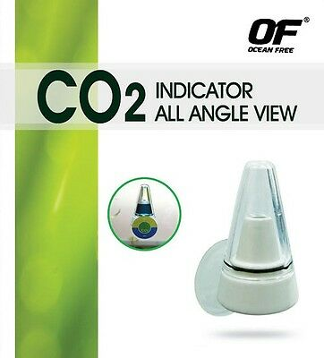 Pm209 Ocean Free Co2 Indicator All Angle View Monitor Aquarium Fish Tank Planted