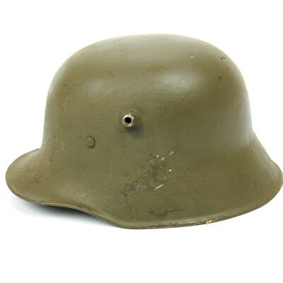 Original Imperial German WWI M18 Stahlhelm Helmet - Shell Size 64