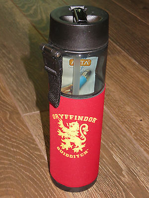 New Wizarding World of Harry Potter Water Bottle Gryffindor Quidditch RED 38 oz