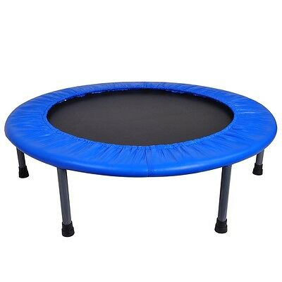 """36"""" Mini Trampoline Gym Circuit Trainer Fitness Exercise Workout Rebounder Home"""