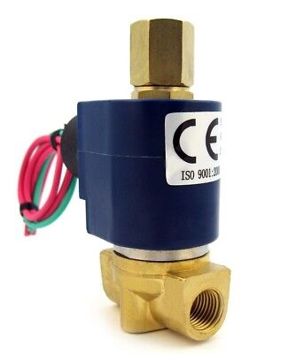 "1/4"" Solenoid Valve 3-WAY 12VDC, 12-volt DC inlet/outlet/exhaust air etc B30V"