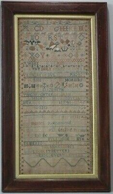 1741 Band Sampler by Elizabeth Buckingam