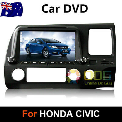 7 inch Honda Civic RHD 2006-2011 Car DVD GPS Stereo Player Head Unit