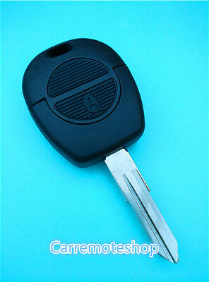 Nissan 2 button remote uncut Key case shell replacement for Pulsar Patrol BLANK