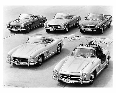 1954 1970 Mercedes Benz 300SL 190SL 280SL 350SL Automobile Photo Poster zu8986