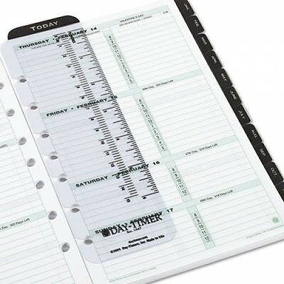 Day-Timer 2015 2-Page-Per-Week Organizer Refill - 910101501