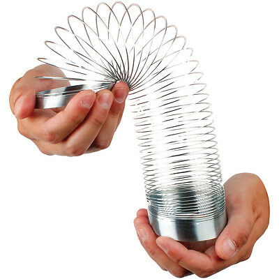 Magic 7cm Springy Slinky Metal Childrens Kids Retro Game Toy 01678