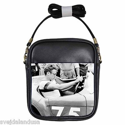 JAMES DEAN DRIVIN' 75 Leather Sling Bag Small Purse