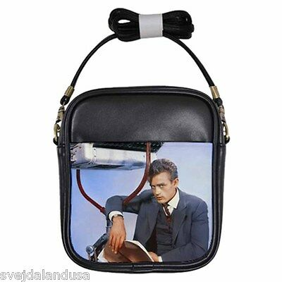 JAMES DEAN GIANT Leather Sling Bag Small Purse