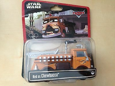 disney parks star wars weekends cars pixar red as chewbacca new with box