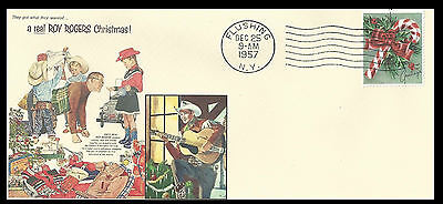 1957 Roy Rogers Toys Featured on Xmas Collector's Envelope