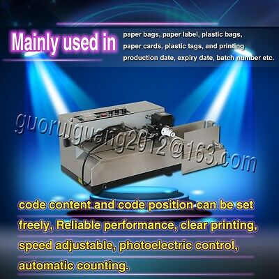 automatic solid ink printer machine for printing code,date with counter