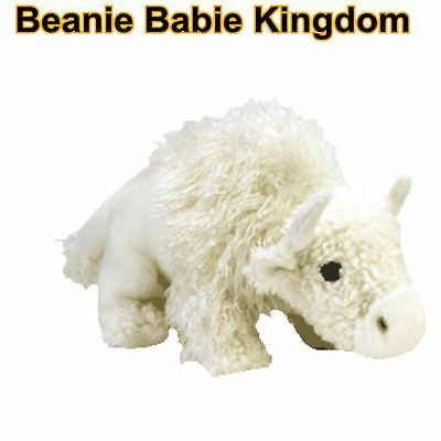 "Ty Beanie Buddy * ROAM  * The White Buffalo Buddie 14"" length - Rare"