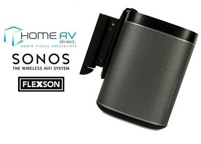 Flexson P1WB1021 Tilt & Swivel Wall Bracket Mount for Sonos PLAY 1 Single Black