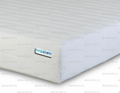 EURO 3FTX6FT6 Single 90X200 CM Memory And Reflex Foam 7 Zone Cool Touch Mattress