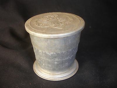Old Vtg Collectible Girl Scout Collapsing Camping Hiking Cup Eagle