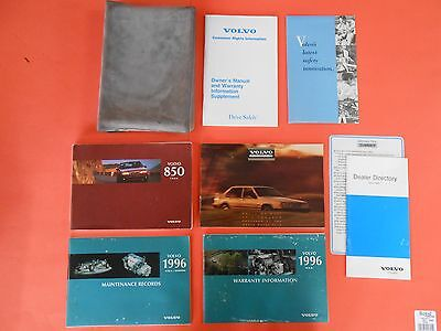 1996 Volvo 850 Owners Manual