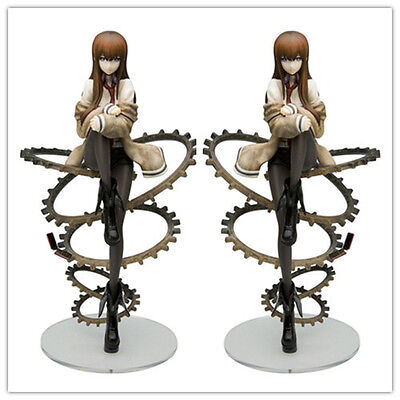 1/8 Steins Gate Makise Kurisu Anime PVC Figure China Version