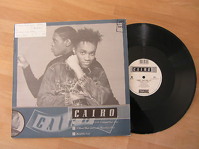 "Cairo - I Want That Girl / Hold On - 12"" Funky R&b Soul - N/m Uk 1989"