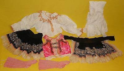 1922 Authentic Girls Size 2 Austrian Dirndl Complete 6 Pc Outfit~RARE HANDMADE!!