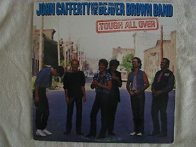 JOHN CAFFERTY AND THE BEAVER BROWN BAND TOUGH ALL OVER  ALBUM