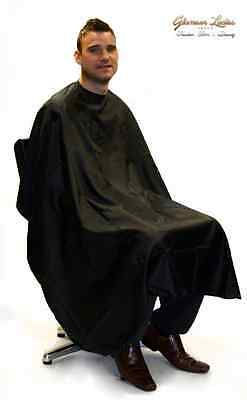 Hair Tools Hairdressing Gown, Barber Gown - Black, Professional Salon use