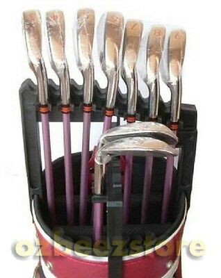 Golf Iron clubs Holder 9 Holders Club Organiser Accessories New in retail box
