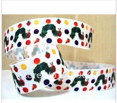 The Very Hungry Caterpillar Ribbon 1m long 1' wide