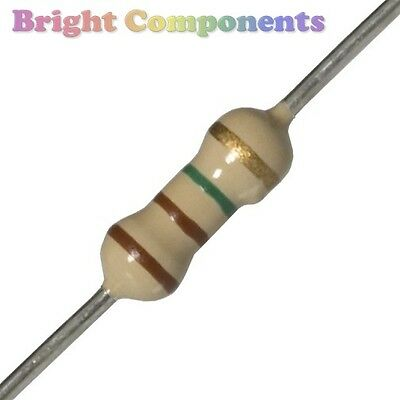 50 x LED Resistor for 5v, 6v, 9v or 12v Supply (LEDS) - 1st CLASS POST